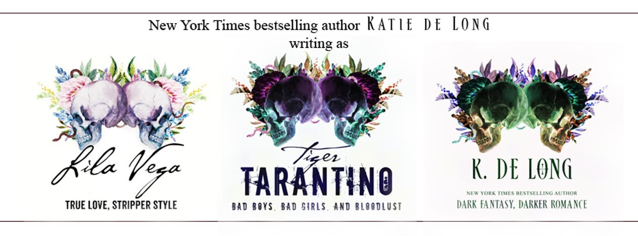 New York Times bestselling author Katie de Long